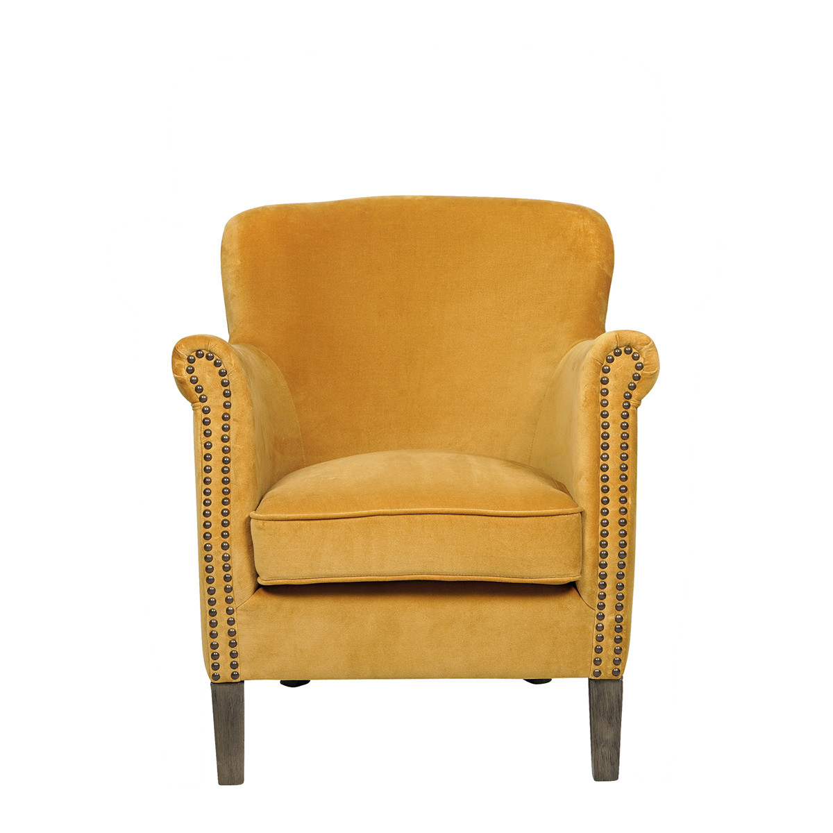 CLAUDE UPHOLSTERED ARMCHAIR
