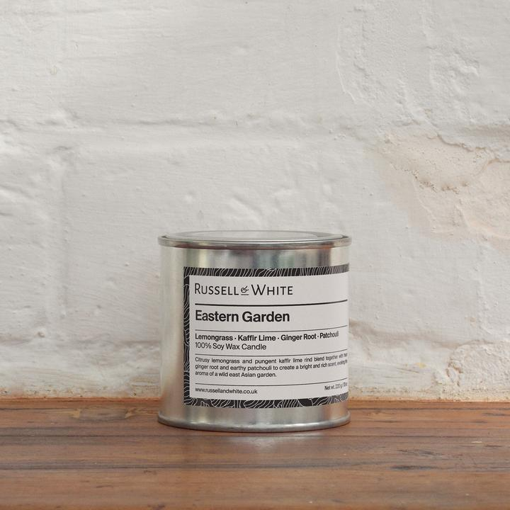 Eastern Garden Russell&White Candle