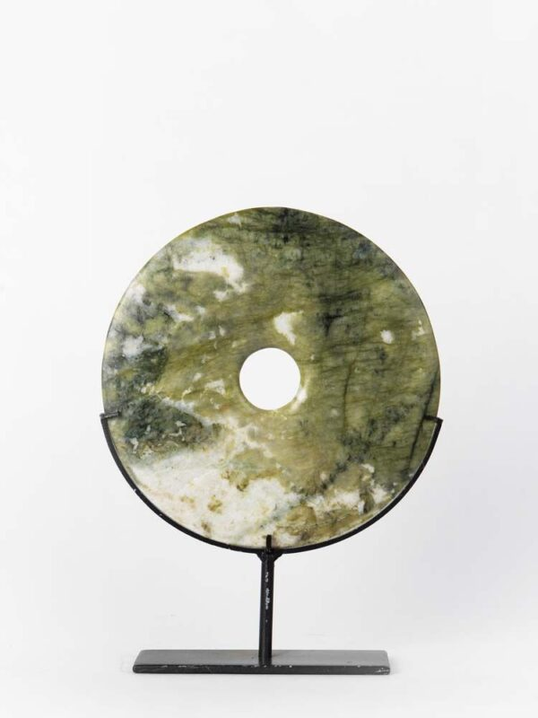 APPLE GREEN MARBLE DISC