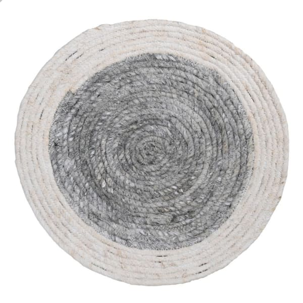 GREY SEAGRASS TABLE MATS