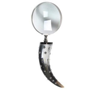 HORN MAGNIFYING GLASS WITH HANDLE