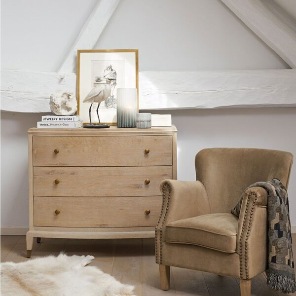 INES CHEST OF DRAWERS - NATURAL