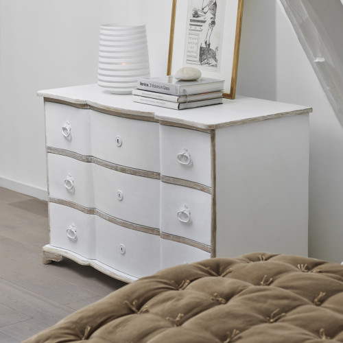 SOPHIE CHEST OF DRAWERS - WHITE