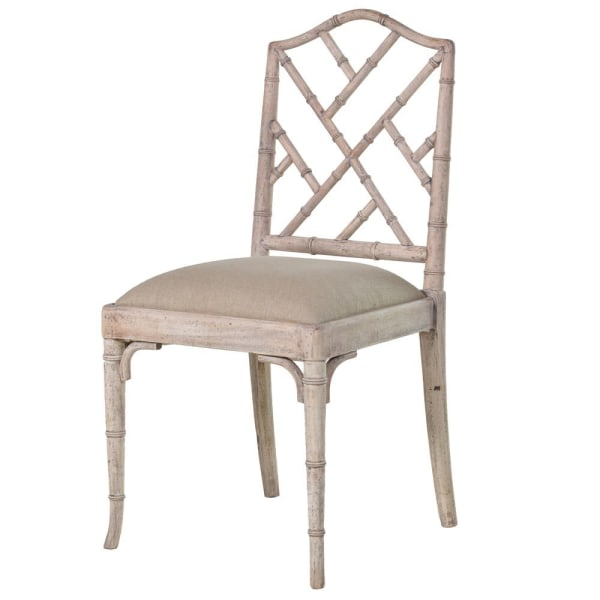 IMPERIAL FAUX BAMBOO CHAIR