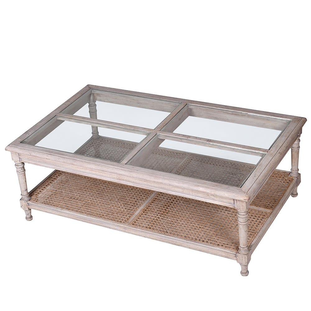 imperial rattan coffee table