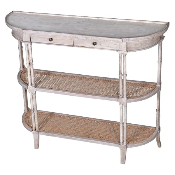 Imperial Rattan Console Table