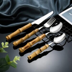 STAINLESS STEEL BAMBOO CUTLERY